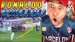 Video AMERICAN WATCHES Cristiano Ronaldo 10 GREATEST Goals Ever Reaction Soccer skills zlatan ibrahimovic MP3, 3GP, MP4, WEBM, AVI, FLV September 2019