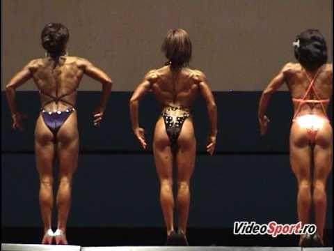 Campionatul National de bodyfitness senioare 2010, Iasi - 1/2