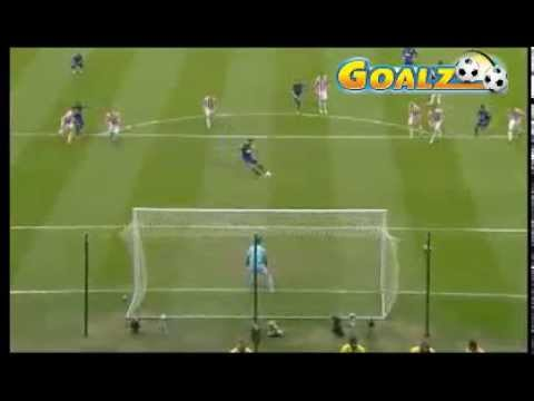 Van Persie Goal (Stoke City 0 - 2 Manchester United) 14.04.2013 