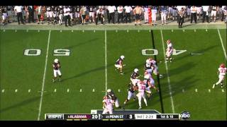 Mark Barron vs PSU 2011