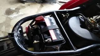 9. Bypass or Disable Foot Brake starter Switch test solenoid wont start Honda Helix motorcycle cn250