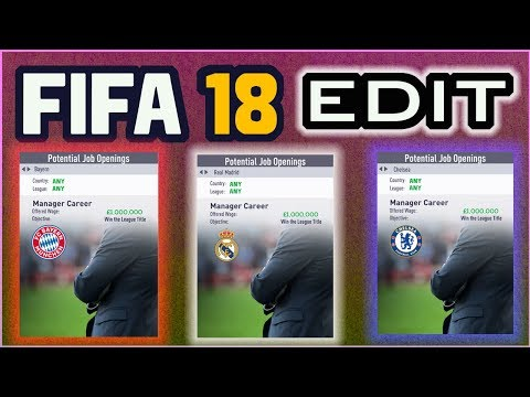 Get Any Job Offer In FIFA 18