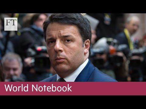 Why the Italian referendum matters | World Notebook (Video)