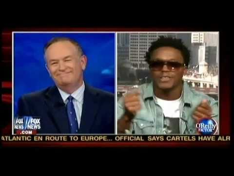 Bill O'Reily - Fox's Bill O'Reilly and rapper Lupe Fiasco went at it on O'Reilly's show Monday night. O'Reilly defended Obama's wars and Fiasco criticized them. Bill was su...