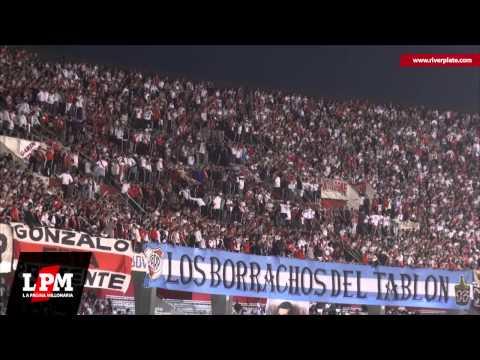 Siempre borracho yo vengo a alentar - vs. Racing - Torneo Final 2013 - Los Borrachos del Tablón - River Plate