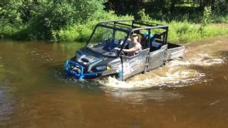 9. 2017 Ranger Crew  Highlifter wife testing out creek crossing after 6