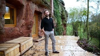 Modern Caveman - Man Builds A $230,000 House In 700-Year-Old Cave