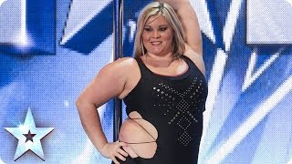 Jak powiedziała, że tańczy na rurze to zaczęli się z niej śmiać! Po występie dostała owacje na stojąco!