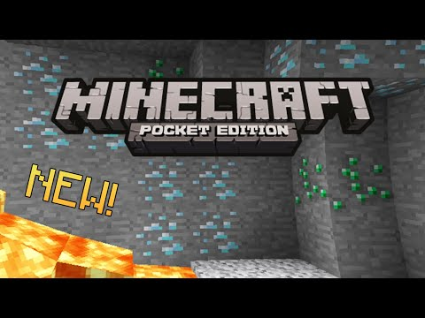 DIAMONDS & EMERALDS SEED - Minecraft Pocket Edition (NEW!)