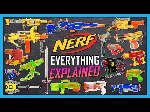 Every 2010 Nerf Blaster Explained in 10 Words or Less