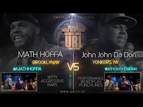 John - Smack/ URL does it again with another action packed match up between Math Hoffa and John John Da Don. This is a fast paced battle that is sure to entertain. ...