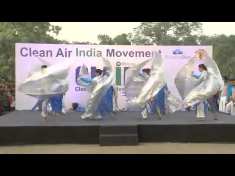 Video Clean Air India Movement (CLAIM) mesmerising dance performance motivating people!! download in MP3, 3GP, MP4, WEBM, AVI, FLV January 2017