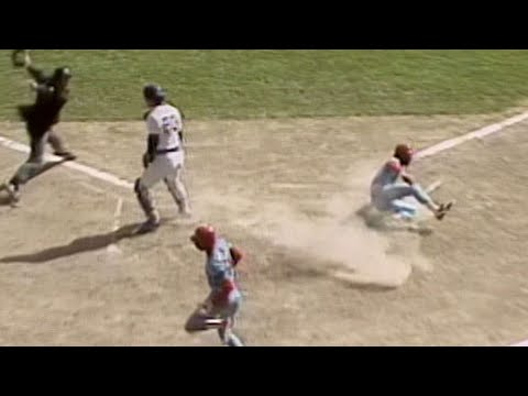 Video: Smith scores 2nd run on Herr's sac fly in 1982 WS Gm4