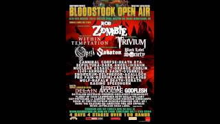 Audio Interview with Planet mosh TV Bloodstock 2015