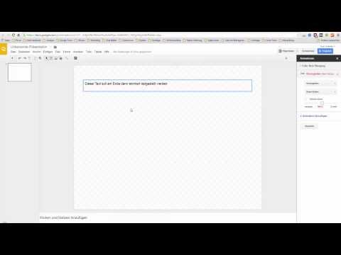Mit Google kostenlose Präsentionen erstellen