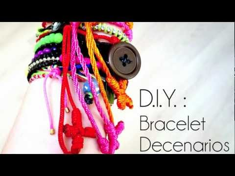 Tutoriel - D.I.Y. : Comment faire un bracelet Decenarios