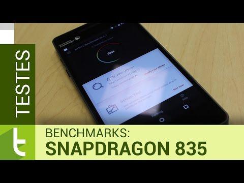 Qualcomm Snapdragon 835: testes de benchmarks  Vídeo do TudoCelular