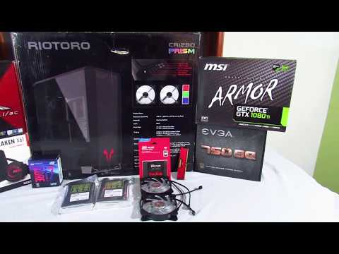 SUPER PC GAMER / I7 8700K / GTX 1080TI / 16GB RAM [TecBox Colombia][TIME LAPSE BUILD