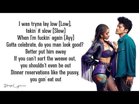 Cardi B & Bruno Mars - Please Me (Lyrics) 🎵