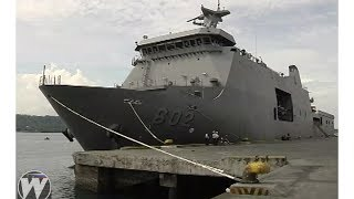 Following President Rodrigo Duterte's declaration of martial law, two naval vessels are now in Davao City to intensify maritime security in Mindanao...READ ARTICLE HERE: https://goo.gl/D2g6WaMore Articles Here:AFP Modernization News: http://www.vjdefense.com/ Blog: http://www.phildefnews.blogspot.comFacebook: https://www.facebook.com/vjdefenseTwitter: https://twitter.com/vjnorzAction - Scoring Action by Kevin MacLeod is licensed under a Creative Commons Attribution license (https://creativecommons.org/licenses/by/4.0/)Source: http://incompetech.com/music/royalty-free/index.html?isrc=USUAN1100338Artist: http://incompetech.com/