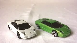 Hot Wheels Video Review : Lamborghini Murciélago (2009) [Français]