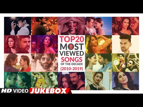 TOP 20 MOST-VIEWED SONGS OF THE DECADE |★ Best Songs From (2010-2019) ★ | Video Jukebox