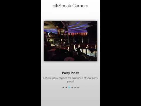 Video of pikSpeak Camera - photo sound
