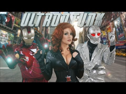 Ultron Funk Avengers Age of Ultron Song Parody