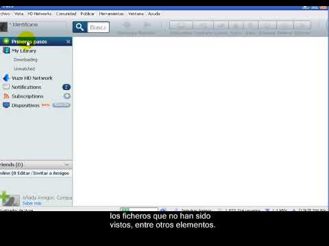 Video 0 de Vuze: Videotutorial de Vuze 1