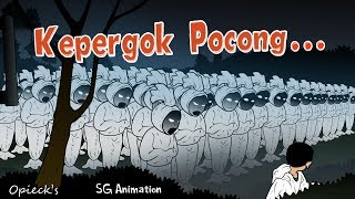 Video kepergok hantu pocong MP3, 3GP, MP4, WEBM, AVI, FLV Juni 2018