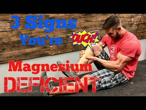 3 Signs that You're Magnesium Deficient (видео)