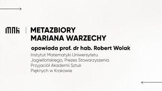 Metazbiory Mariana Warzecha