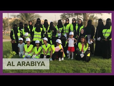 Saudi families join hands for green lands