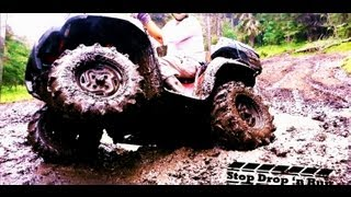 10. Kawasaki Brute Force 750 4X4 ATV Mud Bogging