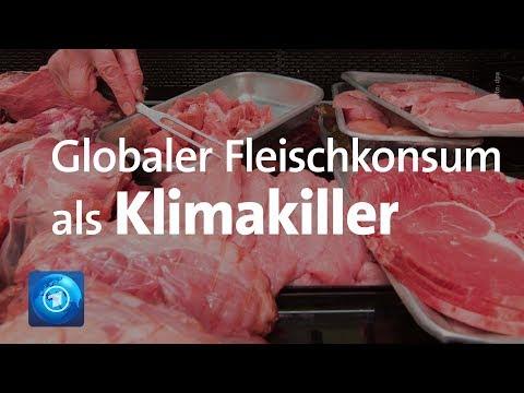 Globaler Fleischkonsum als Klimakiller