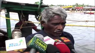 A man was left in the mid sea for three day rescued by Rameswaram Fishermen