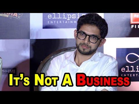 """Aditya thackeray Talking About  Motive  Behind """"Thackeray"""""""