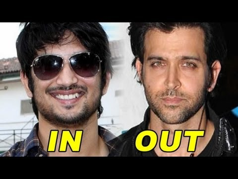 Hrithik Out, Sushant In For 'Paani'