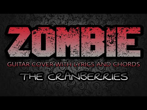 Easy Guitar Zombie Cranberries Tutorial How To Play Chords