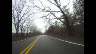 Delafield (WI) United States  City pictures : Time-lapse ride from Delafield WI, to Whitewater WI.