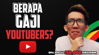 Video Berapa GAJI Youtuber? - QnA Special 150k Subs! MP3, 3GP, MP4, WEBM, AVI, FLV Oktober 2017
