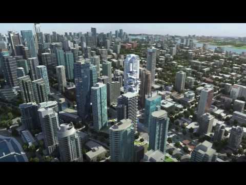 Vancouver condo project 3D flythrough