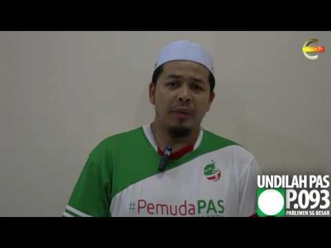 PRKSungaiBesar : Pemuda PAS Selangor Gempur Parlimen Sungai Besar - Ustaz Hanafi