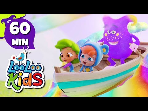 Row Your Boat - Learn English with Songs for Children | LooLoo Kids