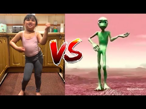 Nepalese Cute Family vs Alien \