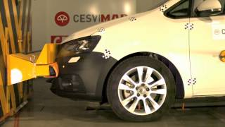 Bumper Test delantero Seat Alhambra en CESVIMAP