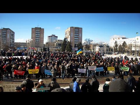 «Ні – штрафам у 320 тисяч!» Черкаські підприємці протестували проти нових податків