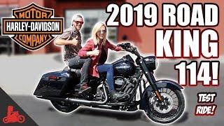 7. 2019 Harley-Davidson Road King Special 114 TEST RIDE!