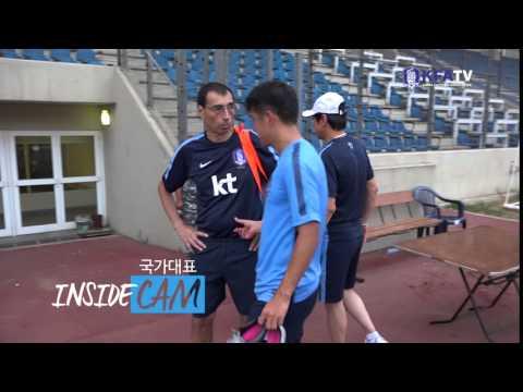 [국대INSIDECAM] 박주호 장난끼 발동 배콕!