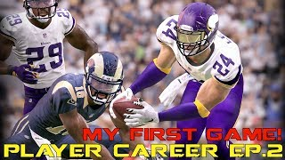 WE GET INTO OUR FIRST AND SECOND SEASON GAME! INCLUDING A NASTY PICK SIX AND A CLUTCH JUMP BALL INTERCEPTION!MY PREVIOUS PLAYER CAREER EPISODE:https://www.youtube.com/watch?v=KNO_LbnLZcA&index=13&list=PLAi-H8Wr0P3f_FgZFApE9dOO8k2Ak_TOoMY LIVESTREAM CHANNEL:https://www.twitch.tv/kaykayesLike, comment, SUBSCRIBE!FOLLOW MY LIFE HERE:https://www.twitter.com/KayKayEssshttps://www.instagram.com/KayKayEs